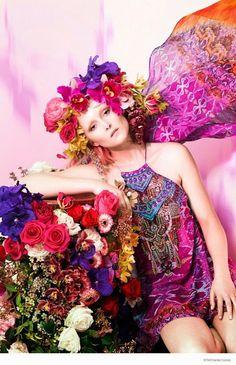 """Artes da Cris"": Flower Party"