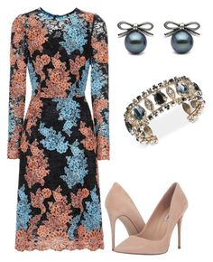 """Без названия #3293"" by claire-hamilton-bristol on Polyvore featuring мода, Dolce&Gabbana, Steve Madden и Marchesa"