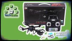 DM007 NightHawk Spy Drone Quadcopter, Specs, Guide, Price, Test