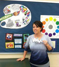 Love the elements palette! MS art teacher