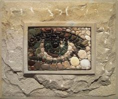 mosaic eye - would be a great design for a garden stepping stone
