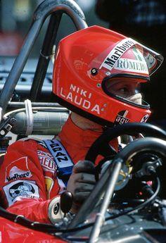 Niki Lauda , Ferrari 312T2. Monaco 1976 GP winner