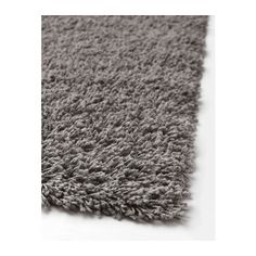 HAMPEN Rug, high pile IKEA Durable, stain resistant and easy to care for since the rug is made of synthetic fibers.