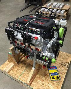 Hot rod engines katech performance hot rod lsx 427 crate engine top motor der richtigen groesse malvernweather Images