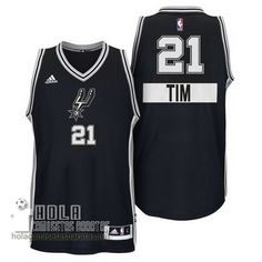 Camisetas Nba Baratas 2014 De Navidad Swingman Duncan #21 Negro San Antonio Spurs  €21.9