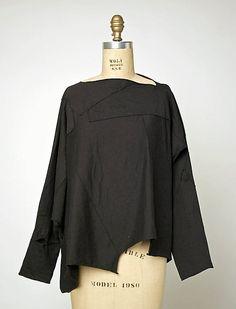 Shirt (T-shirt)  Comme des Garçons  (Japanese, founded 1969)  Date: ca. 1983-still so wearable.