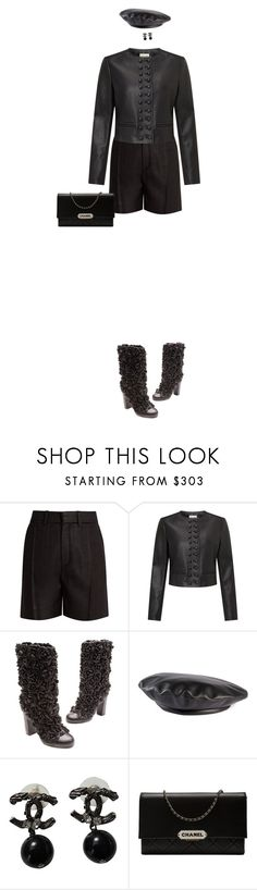 """""""Untitled #821"""" by diaval ❤ liked on Polyvore featuring Chloé, Somerset by Alice Temperley, Chanel and Gucci"""