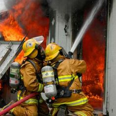Firefighters. ~ In my estimation..THE most respectful, honorable professionals! True heroes in every sense of the word. Thank you ALL!