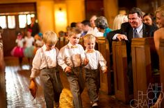 Ringbearers...Kaden and Hudson will look so cute in these =)