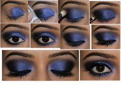 Soy Moda | 20 increíbles tutoriales de ojos, maquillaje para un look perfecto | http://soymoda.net