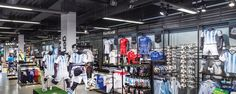 Adidas Store, Bluewater, Kent #Commerciallighting #lighting #retaillighting #Shoplighting #Lighting #Retail #Shop #Displaylighting #Storelighting