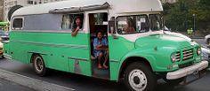 Trailer - Motor Home - Ônibus - Antigo - Velho - Carro - Argentina - Chile - Rio de Janeiro - Brasil - Brazil