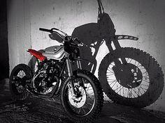 Honda Xl 250 Street Tracker by The Garage Putrefactio #motorcycles #streettracker #motos   caferacerpasion.com