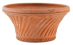 BOXHILL's Italian Terracotta (Conservatory Pot) was designed by American artist Guy Wolff. This charming terracotta pot is made completely by hand in Impruneta, Italy. View our entire collection of fabulous planters at www.shopboxhill.com