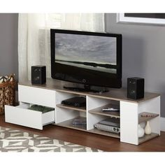 Simple Living Urban Entertainment Stand