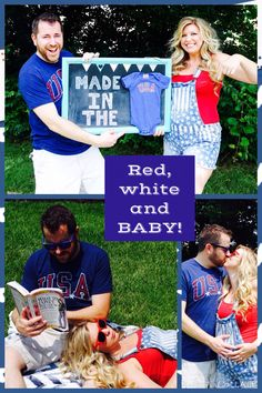 Definitely going to need this someday! 😍🇺🇸 I'll definitely need it someday! 4th Of July Photos, Fourth Of July, Baby Number 2 Announcement, 2nd Baby, Baby Baby, Rainbow Baby, Maternity Pictures, Cool Costumes, Baby Fever
