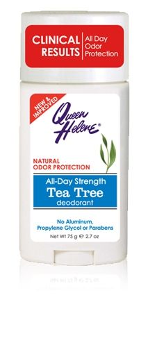 Queen Helene - Tea Tree Oil Deodorant - Paraben and Aluminum Free
