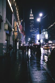 A view of the #EmpireStateBuilding by night by BloodShedTears, via Flickr #NewYorkCity