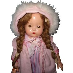 """Sweet Effanbee 26"""" Patsy Ruth Composition Doll from mydollymarket2 on Ruby Lane"""