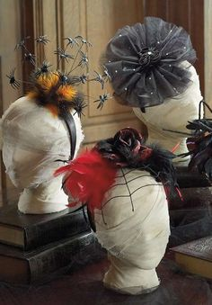 Our spooktacular handmade Halloween Headbands are a wonderful way to finish off an over-the-top costume or to be used alone.