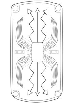 ready to color roman imperial helmet template bible paul acts