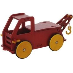 Moover Wooden Toy Tow Truck $100 U.S. https://www.bellalunatoys.com/collections/natural-toddler-toys/products/moover-baby-wooden-toy-tow-truck