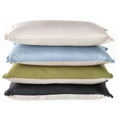 Bergen Silk Cushions by Linen & Moore from Wedding List Co - The Leading Bridal Registry Specialist