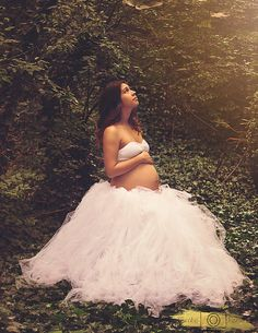 "Extra Full Evelyn Tutu - 45"" length, shown in white - by IBCBoutique   Photo by Maika Ramirez Photography"