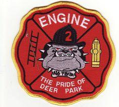 Deer Park, Ohio Bulldog Fire Department patch.