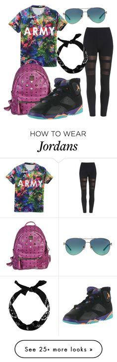 """""""Lola bunny 7s"""" by zoelh178 on Polyvore featuring Tiffany & Co., MCM, New Look and NIKE"""