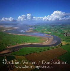 Solway Firth and Eden River