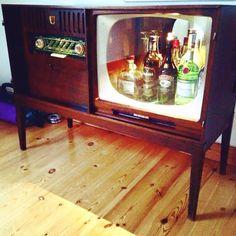 Barskab af gammelt TV