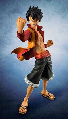 Well-Educated 20cm Cool Japanese Anime One Piece Monkey D Luffy Battle Pvc Action Figure Model Doll Toys Action & Toy Figures