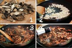 Steak with Creamy Whiskey Mushroom Sauce ~ http://steamykitchen.com