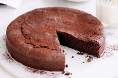 Take the cake and master your baking technique with this classic flourless chocolate cake.