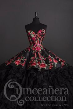Charro Quinceanera Dress by House of Wu 26892 Rose Charro Quinceanera Dress by House of Wu of Wu-ABC Fashion