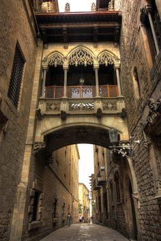 Barrio Gotico de Barcelona, Spain By: Jose Orozco