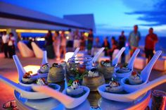 Cocktail party at Secrets Huatulco Resort & Spa!