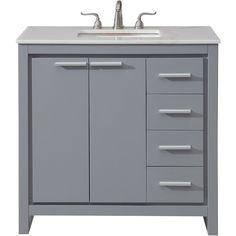 Luxury 3 Drawer Vanity Cabinet