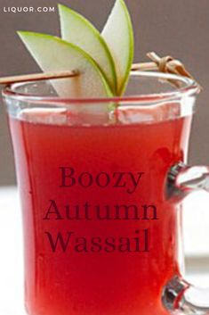 Cognac and rum turn mulled cider into a boozy treat all adult guests will appreciate! This hot cocktail recipe celebrates the autumn season with allspice and apple. Brandy Cocktails, Cider Cocktails, Blue Cocktails, Cocktail Drinks, Cocktail Recipes, Cognac Cocktails, Drink Recipes, Thanksgiving Cocktails, Thanksgiving Side Dishes