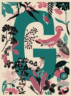 André Ducci has created an alphabet illustration of inky digital scenes that give us a whole new appreication for letters. Book Projects, Creative Activities, Pictures To Paint, Graphic Illustration, Vector Illustrations, Typography Design, Canvas Frame, Vector Art, Art Drawings