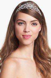 Cara 'Vintage Crystal Flower' Head Wrap