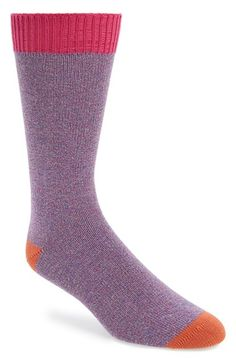 Men's Ted Baker London Multicolor Socks - Pink