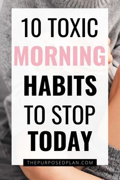 10 Toxic Morning Habits to Remove From Your Morning Routine - Learn to love your mornings again with these healthy morning routine habits! College Morning Routine, Healthy Morning Routine, Morning Habits, Night Routine, Daily Routine Schedule, Books For Self Improvement, Productive Things To Do, Learning To Love Yourself, Busy Life