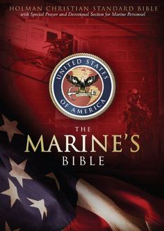 Every US Marine needs a Bible. This one is specific to the Marine Corps with quotes and essays from leaders in the military and former Marines. It is awesome! We bought two for our boys before they went to MCRD/SD.