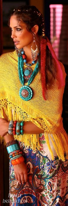 cool ╰☆╮Boho chic bohemian boho style hippy hippie chic bohème vibe gypsy fash...