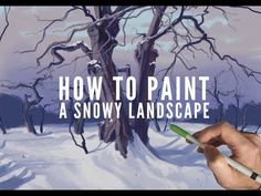 Video by James Julier Art Tutorials In this video, we follow along as James gives us a step by step guide for beginners on how to snow landscape with trees. Showing us every stage in the process of the painting so that you can follow along easily and learn to be a better painter. #HOWTOPAINTASNOWYLANDSCAPE #iPadProwithApplePencil #Procreate #PROCREATEAPP #Procreatepaintingtutorial #ProcreateTutorial #ProcreateTutorialforBeginners #SNOWYLANDSCAPE