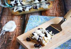 Blueberry & Coconut Coffee Cake Breakfast Bars