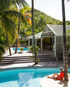 La Banane St. Barts is the boho-chic getaway par excellence. From the vibrant colors to the breezy accents, nothing's amiss in this exclusive hideaway.