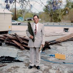 Patrick, Palm Sunday, Baton Rouge, Louisiana, 2002, from Sleeping by the Mississippi. Alec Soth